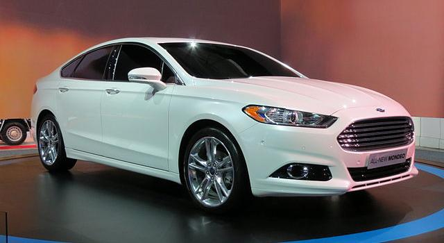 Ford Mondeo 5 2015 фото