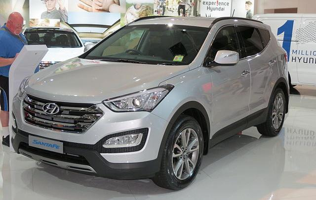 Hyundai Santa Fe 2015 фото