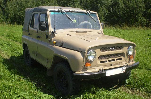 УАЗ 469 Бобик Козел фото