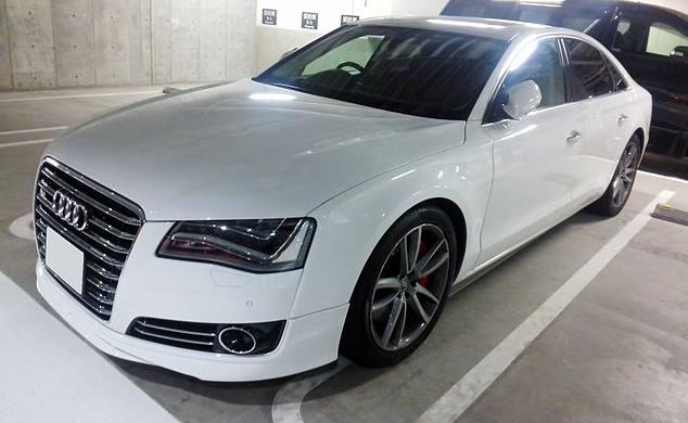 Audi A8 D4 2015