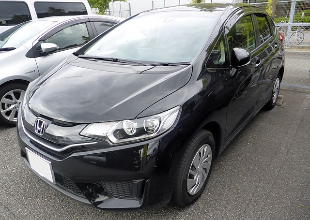 Honda Fit Jazz 2015 фото