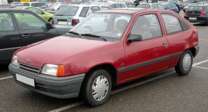Opel Kadett E фото
