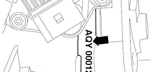 Номер двигателя AQY