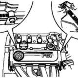 Номер двигателя 2.0 FSI