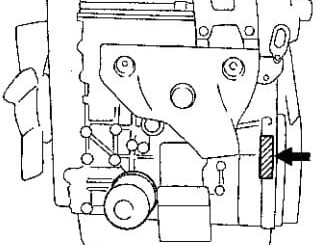 Номер двигателя G16A